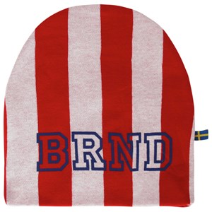 Image of The BRAND Hat Red Stripe XL (6-12 år) (2743742895)