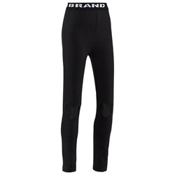 The BRAND Heart Tights Black
