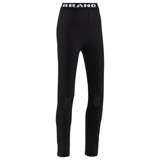 The BRAND Heart Tights Black Black