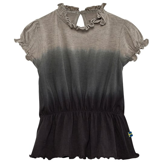 The BRAND Puff Top Grey Dip Dye Grey Mel Dip Dye
