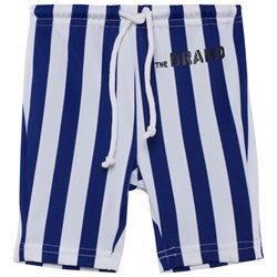 The BRAND Swim Bikers Blue/White Stripe