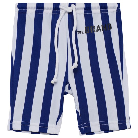 The BRAND Swim Bikers Blue/White Stripe Blue/white stripe