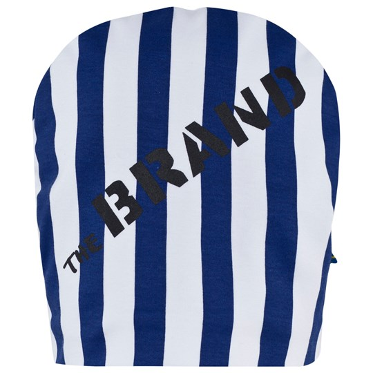 The BRAND Hat Blue/White Stripes Blue/white stripe