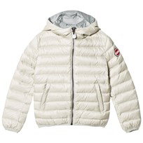 Colmar Pearl Odissey Down Hooded Bomber Jacket 126 Purity and Ash Grey
