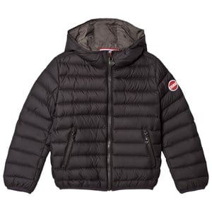 Image of colmar Black Stud Empire Down Hooded Bomber Jacket 12 years (2994536679)