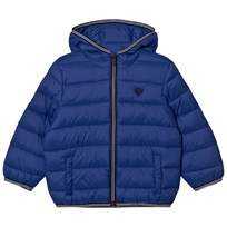 Mayoral Padded Hood Jacket Bright Blue 85