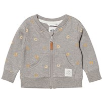 eBBe Kids Elvo Sweat Jacket Soft Gold Swirls Soft gold swirls