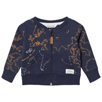 eBBe Kids Elvo Sweat Jacket Ebbe Maps ebbe maps