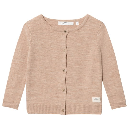 ebbe Kids Smila Knitted Cardigan Warm Sand Warm sand