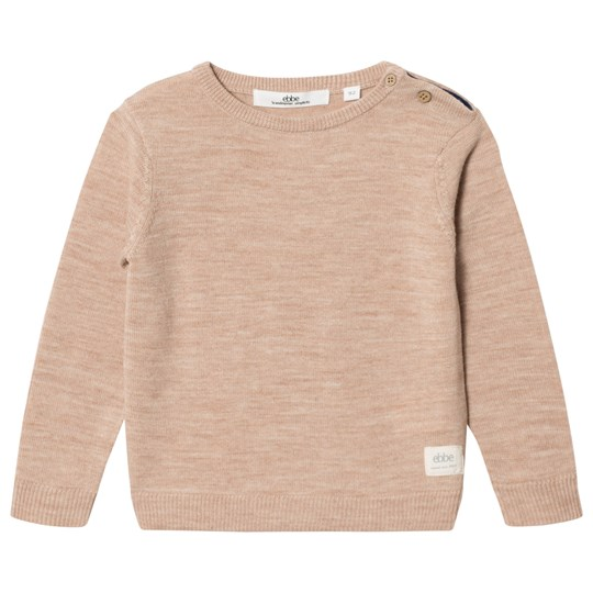ebbe Kids Sune Knitted Sweater Warm Sand Warm sand