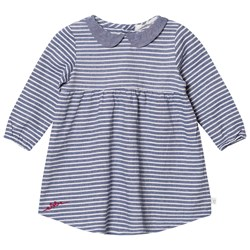 ebbe Kids Alva Dress Denim Blue Stripe