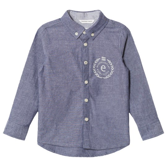 ebbe Kids Andreas Shirt Denim Chambray Denim Chambray