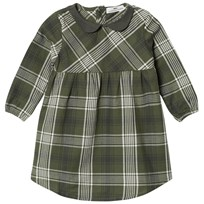 eBBe Kids Amanda Dress Bronze Green Check Bronze green check