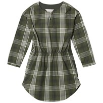 eBBe Kids Angela Dress Bronze Green Check Bronze green check