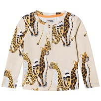 Filemon Kid Long Sleeve T-Shirt Cheetahs Angora Angora