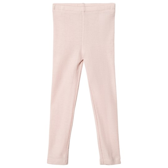 Wheat Wool Leggings Pink Peony