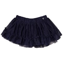 Mayoral Navy Glitter Tulle Skirt 85