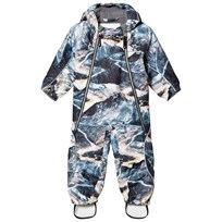 Molo Pyxis Baby Snowsuit Mountain Range Mountain Range