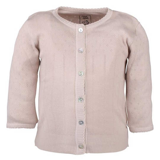 Noa Noa Miniature Cardigan, Long Sleeve Mushroom Beige