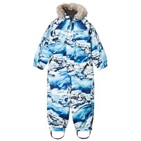 Molo Polaris Faux Fur Snowsuit Husky Husky