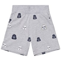 Fabric Flavours Grey Star Wars Empire Sweatshorts Musta