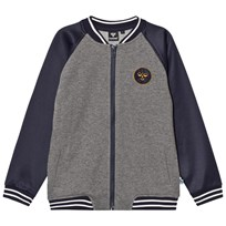 Hummel Frank Zip Jacket Blue Nights Blue Nights