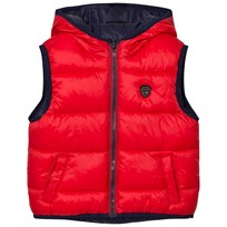 Mayoral Navy/Red Reversible Padded Vest 12