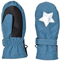 Molo Mitzy Mittens Blue Mountain Blue Mountain