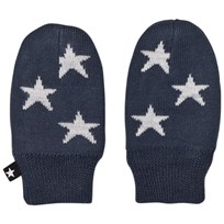 Molo Snowflake Mittens Midnight Navy Midnight Navy