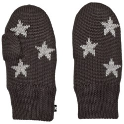 Molo Snowfall Mittens Pirate Black