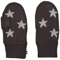Molo Snowfall Mittens Pirate Black Pirate Black