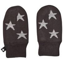 Molo Snowflake Mittens Pirate Black Pirate Black