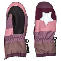 Molo Igor Mittens Huckleberry Stripe Huckleberry stripe