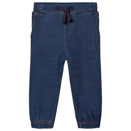 The Bonnie Mob Denim Jogging Baby Pants Denim Plain