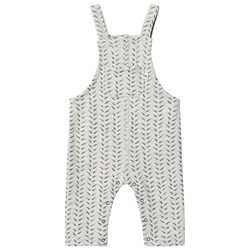 The Bonnie Mob Bamboo Print Overall Grey