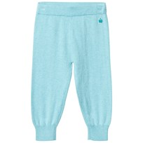 The Bonnie Mob Jogging Style Knitted Trouser Pale Blue Pale Blue