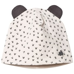 The Bonnie Mob Reversible Baby Beanie Bunny Hat Sand