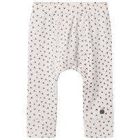 The Bonnie Mob Bunny Print Baby Leggings Sand Sand