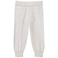 The Bonnie Mob Jogging Style Knitted Trouser Pale Grey Pale Grey