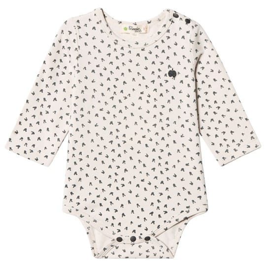 The Bonnie Mob Bunny Print Baby Body Sand Sand