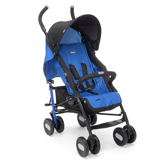 Chicco Echo Stroller With Bumper Bar Deep Blue Deep Blue