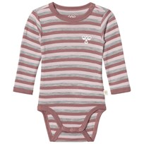 Hummel Seide Wool Baby Body Multi Colour Multi Colour Girls