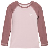 hummelkids Alta Ls Tee Aw17 Burnished Lilac BURNISHED LILAC