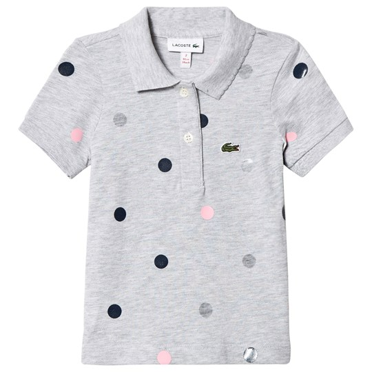 Lacoste Grey Multi Spot Polo CCA