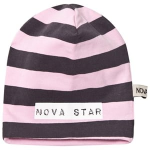 Image of Nova Star Beanie Striped Pink S (1-2 år) (2743695279)