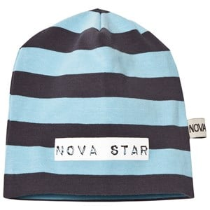 Image of Nova Star Beanie Striped Blue NB (0-3m) (2743695267)