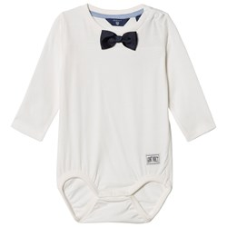 GANT Off White Bow Tie Baby Body