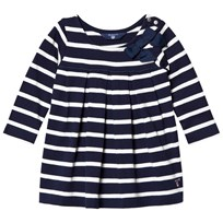 Gant Navy and White Stripe Jersey Dress with Bow 433