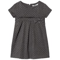 Mayoral Grey Spot Pleat Dress 94