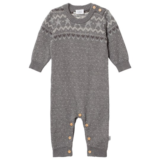 Hust&Claire Ribbed One-Piece Grey Blend Grey Blend